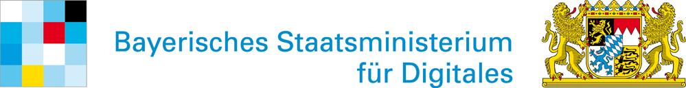 Logo Bayrisches Staatsministerium für Digitales StMD - Zum StMD