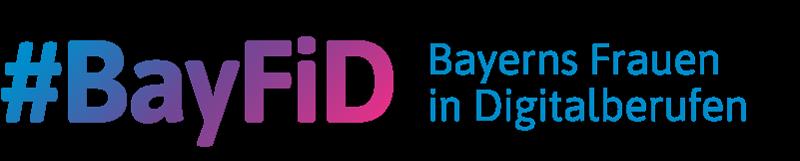 Logo Bayerns-Frauen-in-Digitalberufen (BayFiD) - zur Startseite