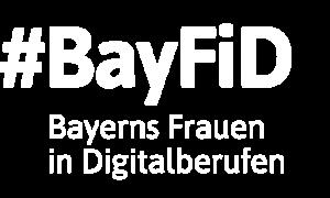 Logo Bayerns-Frauen-in-Digitalberufen (BayFiD)