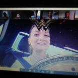 Screenshot der Videokonferenz mit Judith Gerlach im Vordergrund