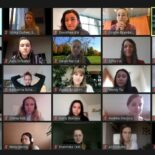 Let's Talk Roundtable am 20.11.2020: Screenshot der Teilnehnerinnen der Videokonferenz