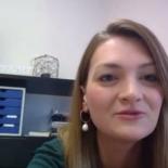 Let's Talk Roundtable am 20.11.2020: Screenshot der Videokonferenz zeigt Judith Gerlach, Staatsministerin für Digitales, im Gespräch
