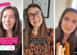 Instagram Stories von drei Workshop-Teilnehmerinnen