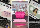 Weitere Screenshots von Instagram Stories der Workshop-Teilnehmerinnen