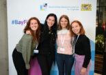 4 BayFiD Teilnehmerinnen lachen in die Kamera